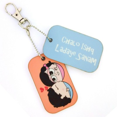 Little India CGI128 Locking Key Chain(Multicolor)  available at flipkart for Rs.149