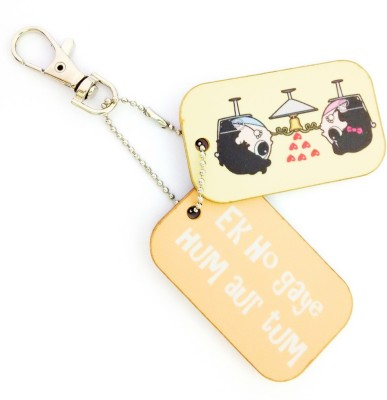 Little India CGI130 Locking Key Chain(Multicolor)  available at flipkart for Rs.149