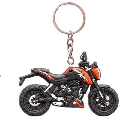 Ezone Best KTM Duke 200 Bike Shape Key Chain(Multicolor)  available at flipkart for Rs.110