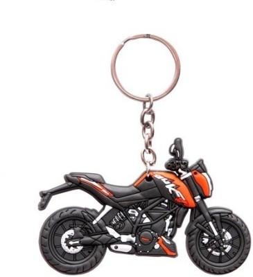Ezone KTM Duke Bike Rubber Key Chain(Multicolor)  available at flipkart for Rs.159