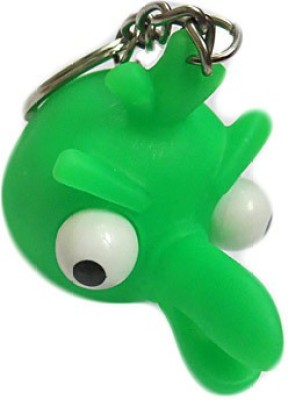 DCS Green Angry Bird Key Chain Locking Key Chain(Green)  available at flipkart for Rs.115