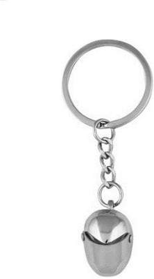 Phoenix Helmet curved Gate metal Key Chain(Silver)  available at flipkart for Rs.123