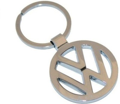 Ezone Full Metal Car loot volkswagen Key Chain(Silver)