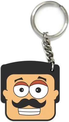 Little India CGI134 Locking Key Chain(Multicolor)  available at flipkart for Rs.149