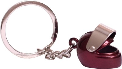 Dealfinity Helmet Metal DKYCN1363 Key Chain(Multicolor)  available at flipkart for Rs.185