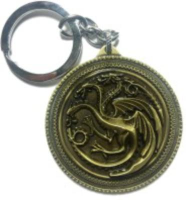 Spot Dealz SDL594 Game of Thrones Targaryen Dynasty Badge Key Chain Key Chain