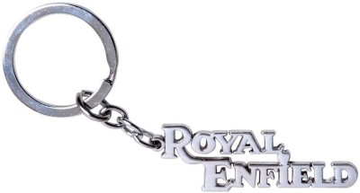 GCT Royal Enfield / Bullet / Electra / Classic / Thunderbird Metal Key Chain(Silver)  available at flipkart for Rs.161