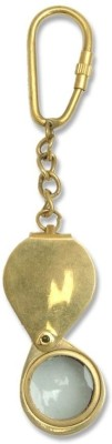 Home Sparkle Lens Key Chain(Gold)  available at flipkart for Rs.147