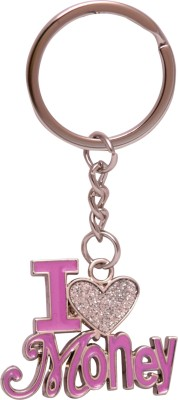 Oyedeal KYCN994 I Love Money Metal Key Chain(Multicolor)  available at flipkart for Rs.165