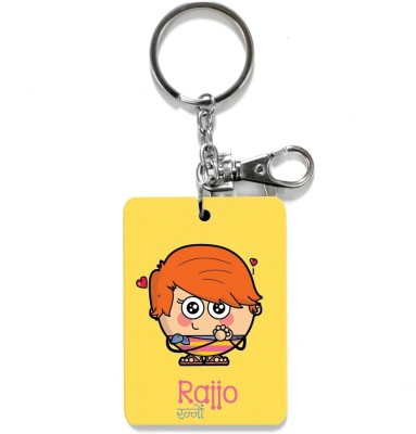 Little India CGI147 Locking Key Chain(Yellow)  available at flipkart for Rs.199
