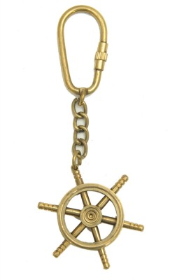 Home Sparkle Wheel Key Chain(Gold)  available at flipkart for Rs.137