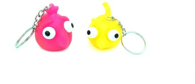 Akki Collection squeezy angry bird Locking Key Chain(Multicolor)  available at flipkart for Rs.180