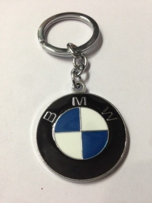 Aura BMW Full Metal Key Chain(Silver)  available at flipkart for Rs.145