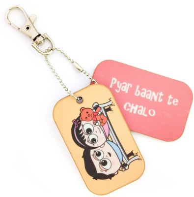 Little India CGI129 Locking Key Chain(Multicolor)  available at flipkart for Rs.149