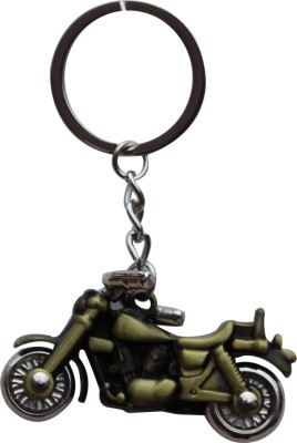 Anishop Bullet Royal Enfield Bike Metal Keyring Key Chain(Gold)  available at flipkart for Rs.147