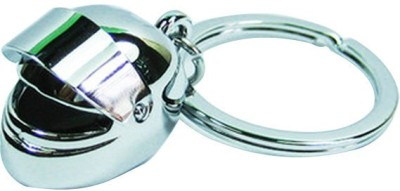 Confident 02 Metalic Helmet Key Chain(Silver)  available at flipkart for Rs.199