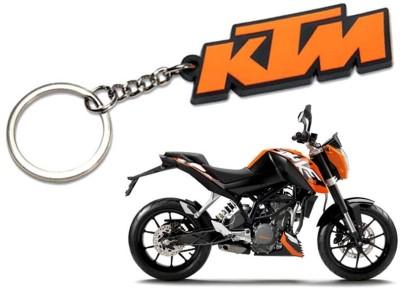 Confident SET OF 2 KTM BIKE And KTM logo Key Chain(Multicolor)  available at flipkart for Rs.149