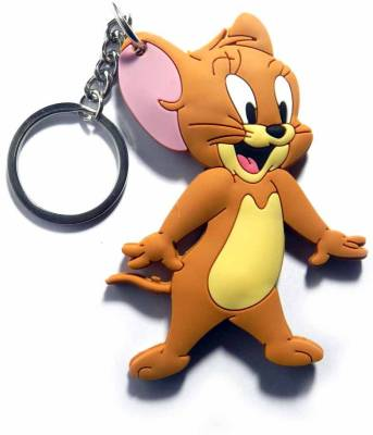 Tech Pro Doublesided Jerry Mouse Key Chain  (Multicolor)