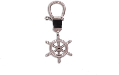 Home Sparkle Ship Wheel Key Chain(Silver)  available at flipkart for Rs.127