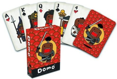 Dark Horse Deluxe Domo Japanese Playing Cards(Red)