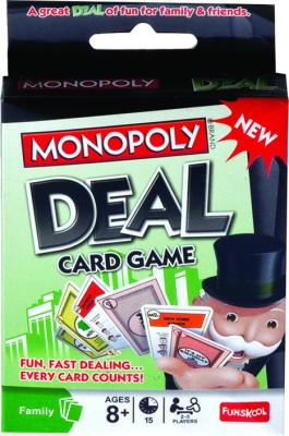 Funskool Monopoly Deal Card Game(Multicolor)
