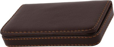 U. R. GOD Businesss/Visiting 15 Card Holder(Set of 1, Brown)