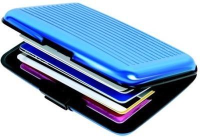 Tady Italio 6 Card Holder(Set of 1, Blue)
