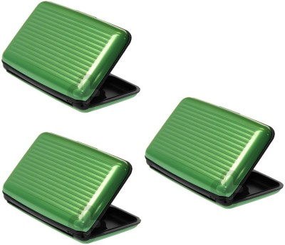 Dizionario 6 Card Holder(Set of 3, Green)  available at flipkart for Rs.189