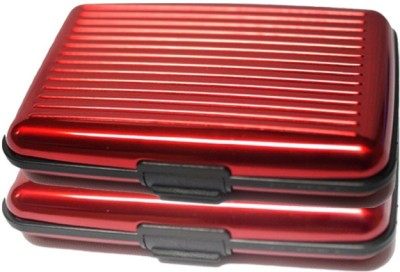 Dizionario 6 Card Holder(Set of 2, Red)  available at flipkart for Rs.175