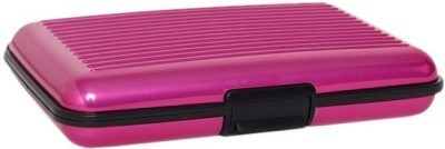 Tady Italio 6 Card Holder(Set of 1, Pink)  available at flipkart for Rs.159