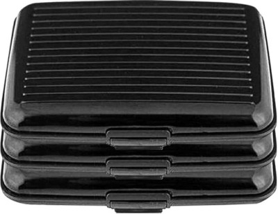 Dizionario 6 Card Holder(Set of 3, Black)  available at flipkart for Rs.249