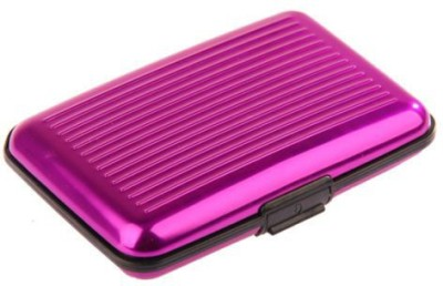 FashionCops Classic 6 Card Holder(Set of 1, Pink)  available at flipkart for Rs.117