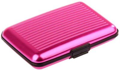 Gadget Deals 6 Card Holder(Set of 1, Pink)  available at flipkart for Rs.159