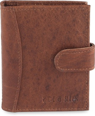 Hide & Sleek Credit 20 Card Holder(Set of 1, Brown)