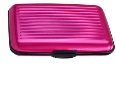 Tuelip 6 Card Holder(Set of 1, Pink)  available at flipkart for Rs.159