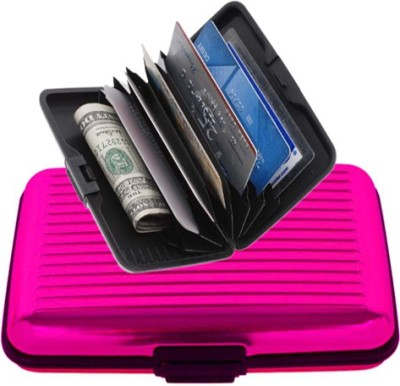 Evana 6 Card Holder(Set of 1, Pink)  available at flipkart for Rs.149