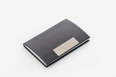 Star Gift 20 Card Holder(Set of 1, Black)