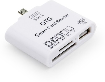 A Connect Z OTG CR-01-AcZ107 Card Reader(White)