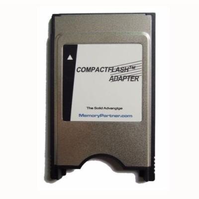 TechGear Compact Flash Memory Laptop Adapter Converter Card Reader(Silver)