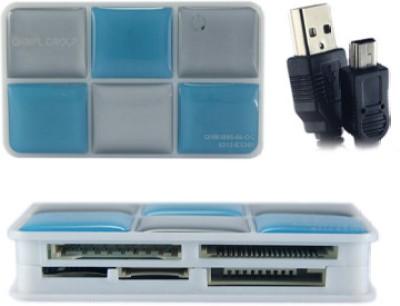 QUANTUM QHM 5095 Card Reader Blue, White QUANTUM Computer Peripherals