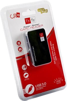 Tyfy CR10 Card Reader Black Tyfy Computer Peripherals