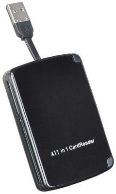Reo 10 in 1 Portable Card Reader(Black)