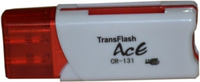 Ace Cr 131 Card Reader Red Ace Computer Peripherals