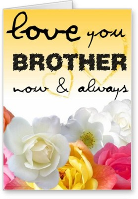 51 Off On Lolprint Love You Brother Rakhi Greeting Cardmulticolor