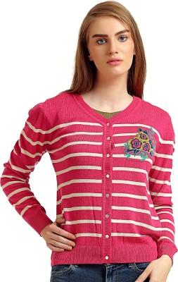 Moda Elementi Women's Button Cardigan