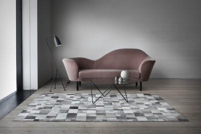 SWHF Grey Geuine Leather Carpet(150 cm  X 90 cm) at flipkart