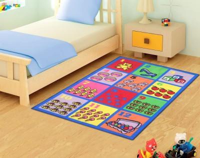 Status Pink Nylon Carpet(91 cm  X 152 cm) at flipkart