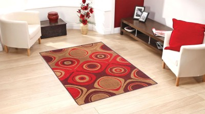 Status Multicolor Polyester Carpet(91 cm  X 152 cm) at flipkart