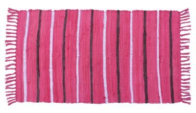 Azaani Multicolor Cotton Area Rug(50  X 90) at flipkart