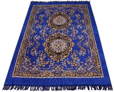 PS Decor Multicolor Silk Carpet(153 cm  X 214 cm) at flipkart